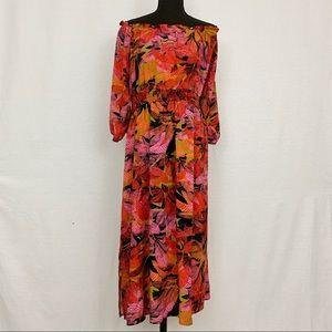 City Chic Plus Size 18 Cold Shoulder Dress